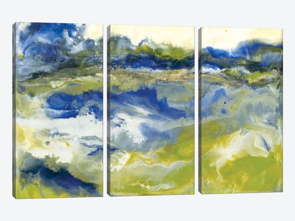Marine Flow I by J. Holland 3-piece Canvas Print