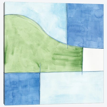 Patch I Canvas Print #JLN23} by J. Holland Canvas Art