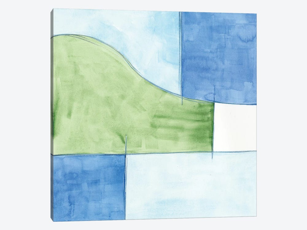 Patch I by J. Holland 1-piece Canvas Artwork