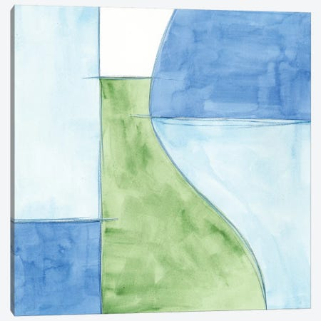 Patch II Canvas Print #JLN24} by J. Holland Art Print