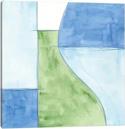 Patch II Canvas Art Print