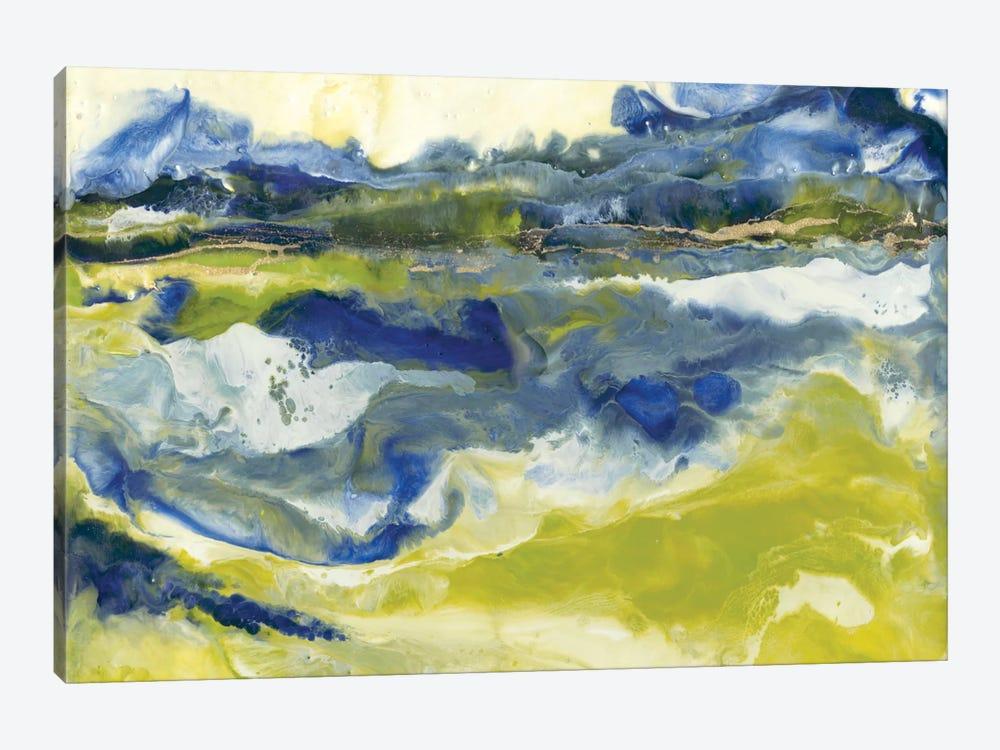 Marine Flow II by J. Holland 1-piece Canvas Wall Art