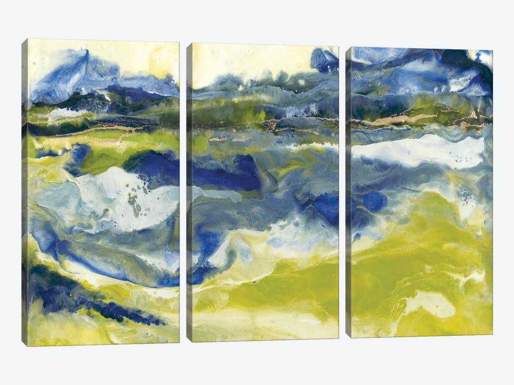 Marine Flow II by J. Holland 3-piece Canvas Art