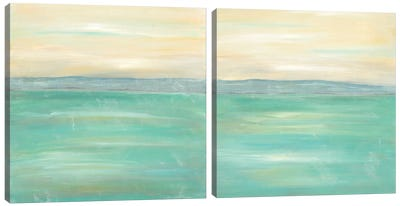 Serenity Diptych Canvas Art Print