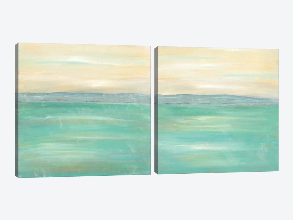 Serenity Diptych by J. Holland 2-piece Canvas Print