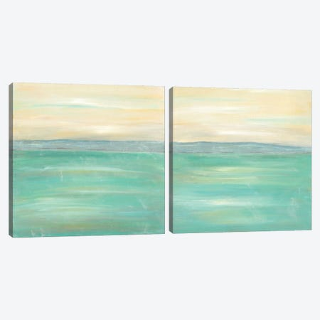 Serenity Diptych Canvas Print Set #JLN2HSET001} by J. Holland Canvas Print