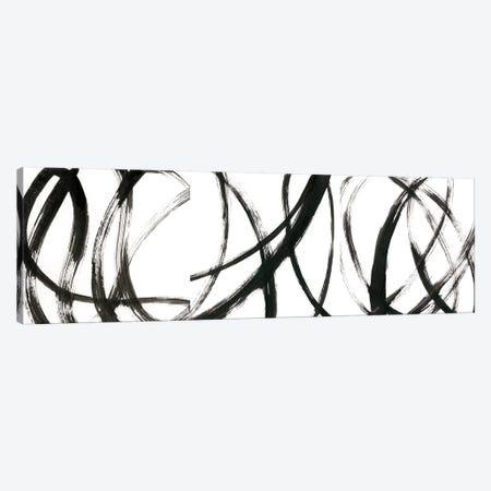 Linear Expression Triptych Canvas Print Set #JLN3HSET001} by J. Holland Canvas Print