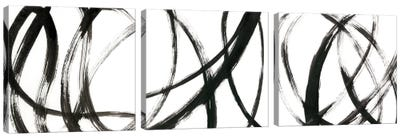 Linear Expression Triptych Canvas Art Print