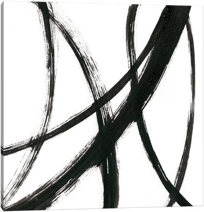 Linear Expression II Canvas Art Print