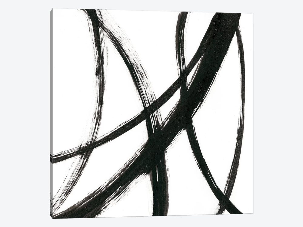 Linear Expression II by J. Holland 1-piece Canvas Wall Art