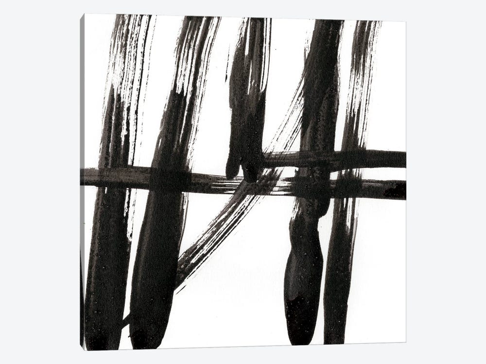 Linear Expression IV by J. Holland 1-piece Canvas Artwork