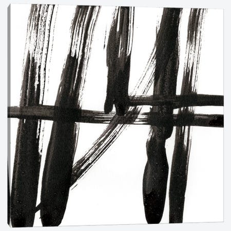 Linear Expression IV Canvas Print #JLN6} by J. Holland Canvas Artwork