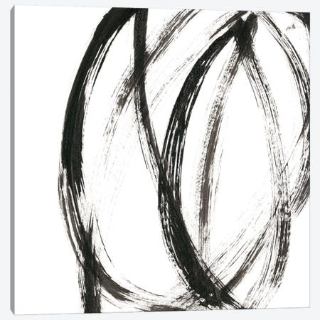 Linear Expression IX Canvas Print #JLN7} by J. Holland Canvas Wall Art