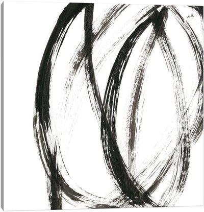 Linear Expression IX Canvas Art Print