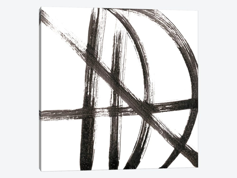 Linear Expression VIII by J. Holland 1-piece Canvas Wall Art