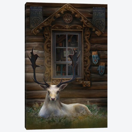 Freyas House Canvas Print #JLO11} by Juliana Loomer Canvas Artwork