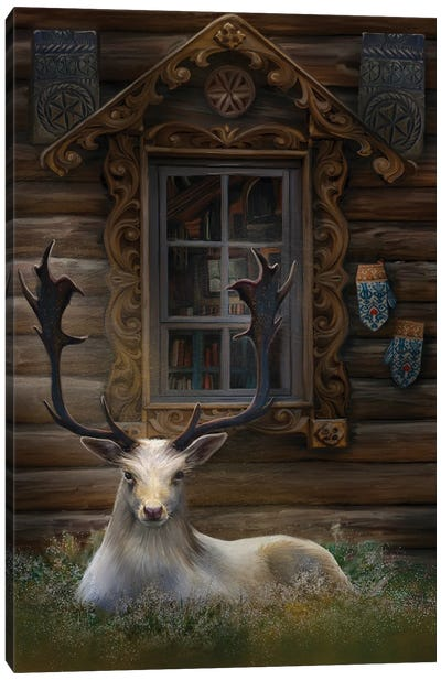 Freyas House Canvas Art Print