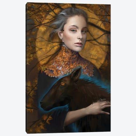 Lettie Canvas Print #JLO15} by Juliana Loomer Canvas Art Print