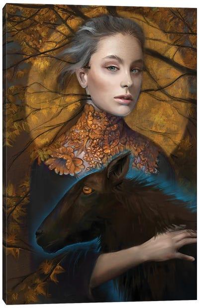 Lettie Canvas Art Print