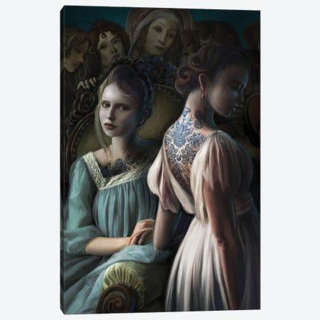 Painted Ladies Canvas Print #JLO16} by Juliana Loomer Canvas Print
