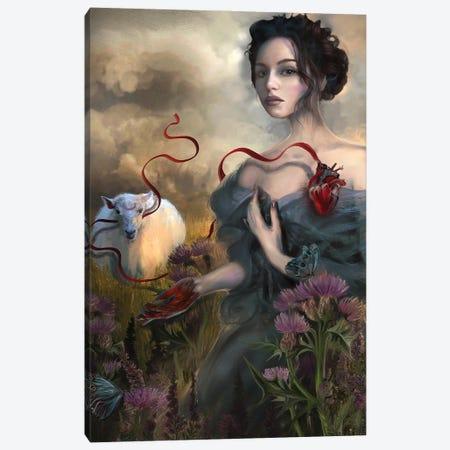 Sacrifice Canvas Print #JLO19} by Juliana Loomer Canvas Art