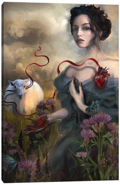 Sacrifice Canvas Art Print