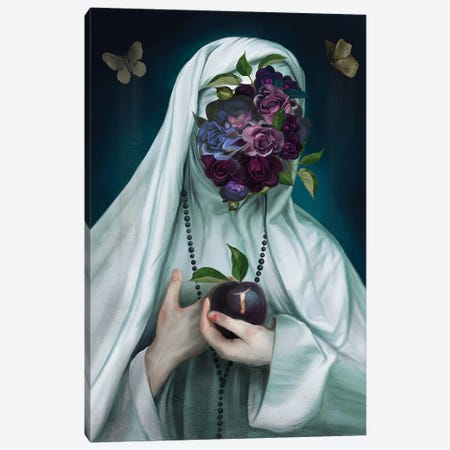 Abbess of Gaia Canvas Print #JLO1} by Juliana Loomer Canvas Artwork