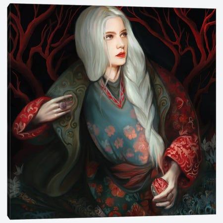 Snow White Canvas Print #JLO21} by Juliana Loomer Canvas Print