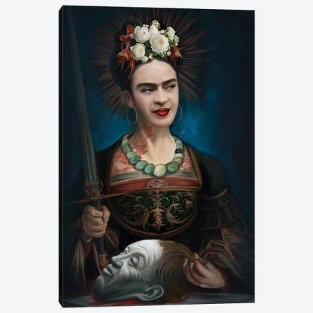 St.Frida Canvas Print #JLO23} by Juliana Loomer Canvas Art Print