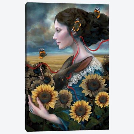 Sunny Canvas Print #JLO25} by Juliana Loomer Canvas Art