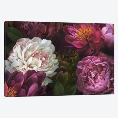 Garden Of Delight Canvas Print #JLO32} by Juliana Loomer Canvas Art