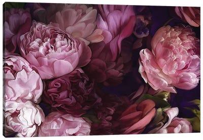 Summer Peonies Canvas Art Print