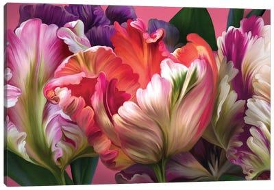 Tulip Mania Canvas Art Print