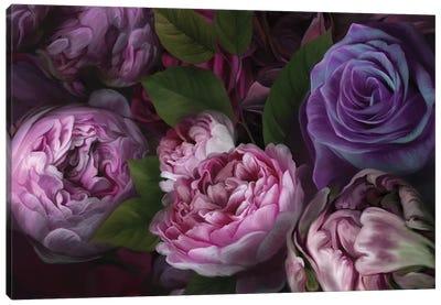 Violet Eden Canvas Art Print
