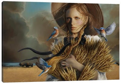 Harvest Canvas Art Print