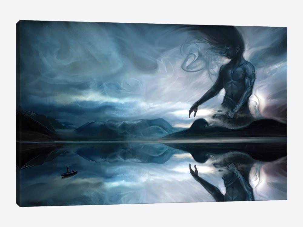 Calling The Jotun by Juliana Loomer 1-piece Canvas Artwork