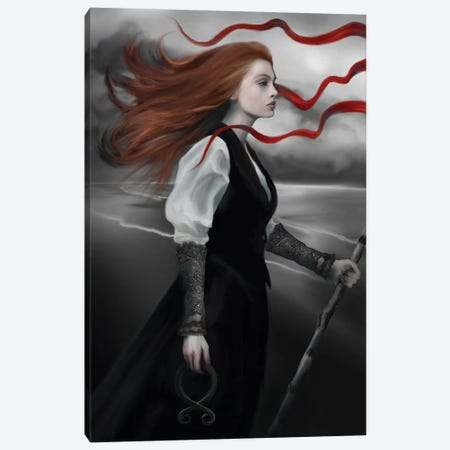 Calling The Wind Canvas Print #JLO8} by Juliana Loomer Canvas Artwork