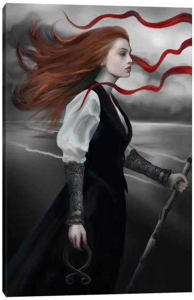 Calling The Wind Canvas Art Print