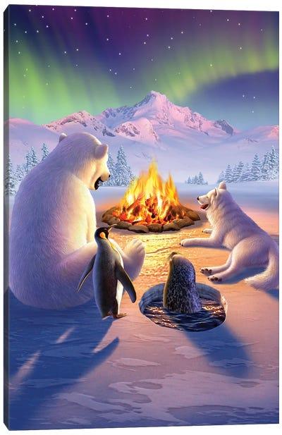 Polar Pals Canvas Art Print