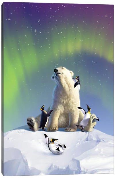 Polarpals Canvas Art Print