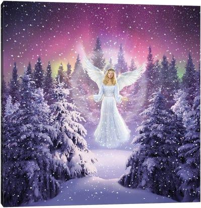 Snow Angel Canvas Art Print