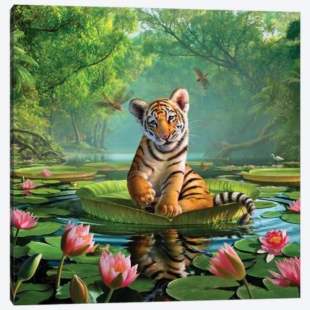 Tiger Lily Canvas Print #JLR27} by Jerry Lofaro Art Print