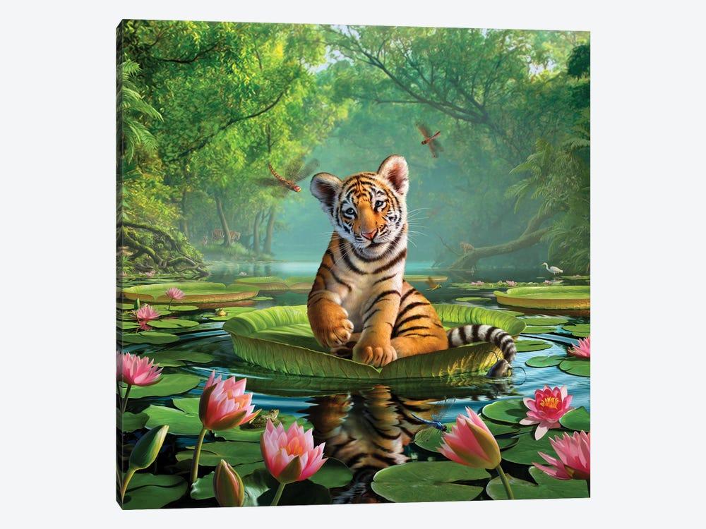 Tiger Lily by Jerry Lofaro 1-piece Canvas Print