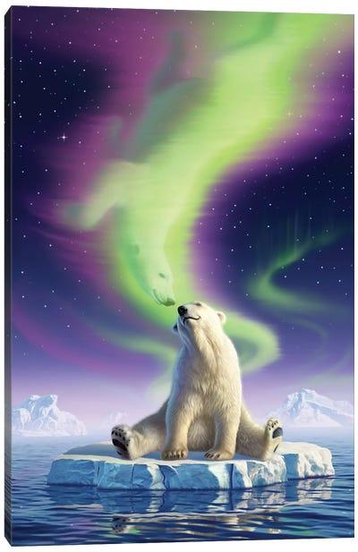 Arctic Kiss Canvas Art Print