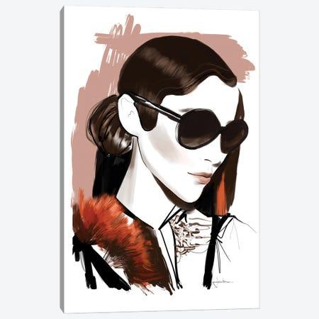 Sunglasses Season Canvas Print #JLT14} by Janka Letková Canvas Wall Art