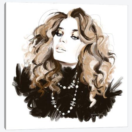 Chanel Necklace Canvas Print #JLT18} by Janka Letková Canvas Print