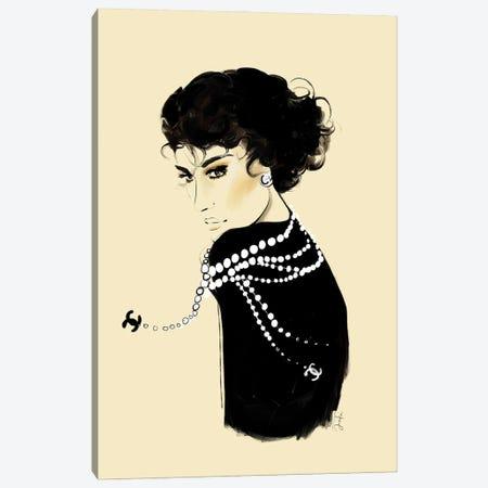 Coco Canvas Print #JLT1} by Janka Letková Canvas Art