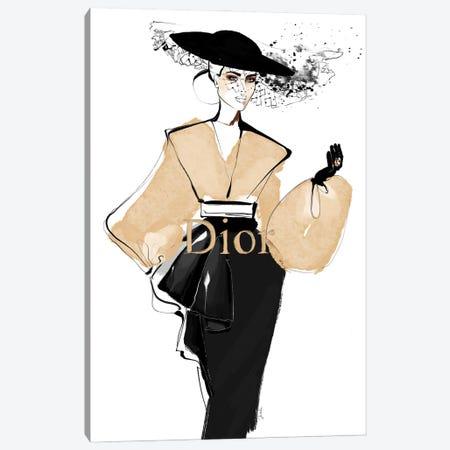 Iconic Dior Canvas Print #JLT9} by Janka Letková Canvas Artwork