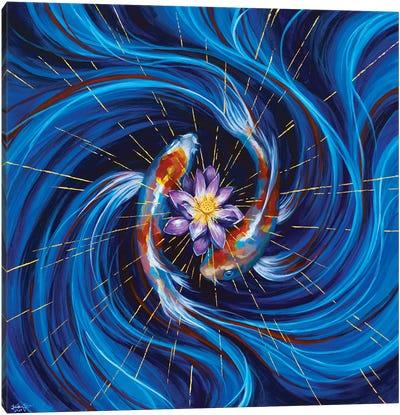 Eye Of The Storm Canvas Art Print