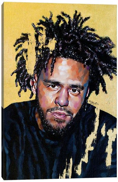 J. Cole Canvas Art Print